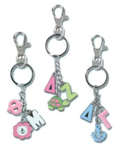 Sorority Charm Key Chains