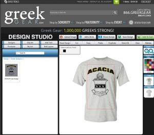 Design Your Own Greek Tees