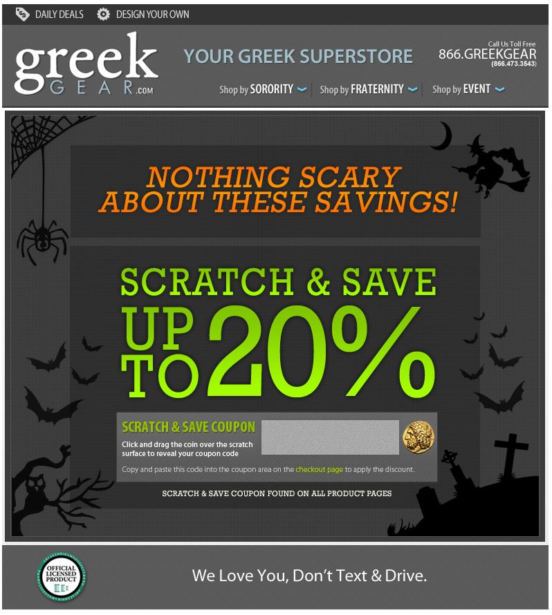 Scratch & Save Your Way To Savings!