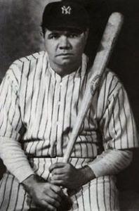 Babe Ruth, Alpha Delta Gamma